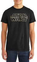 Star Wars Men's and Big Men's Classic Logo Outline Wars Graphic T-shirt
