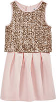 Epic Threads Pink Popover Dress, Big Girls, Created for Macy's