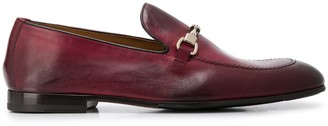 Doucal's Horsebit Almond Toe Loafers