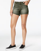 Vanilla Star Juniors' Vented Denim Shorts
