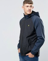 Lyle & Scott Jacket With Contrast Sleeves In Black