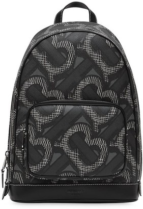 Burberry Monogram-print backpack