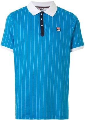 Fila Logo Patch Polo Shirt