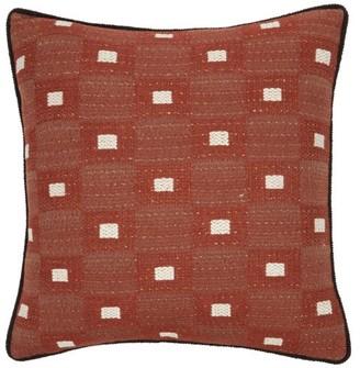 Tibor - Cymbeline Boucle Cushion - Burgundy Multi