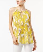 INC International Concepts Pleated Halter Top, Created for Macy's