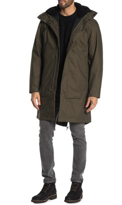 Theory Montrose Faux Shearling Lined Hood 3-in-1 Parka