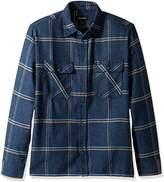 Brixton Men's Archie Long Sleeve Flannel