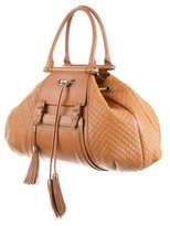 Zac Posen Quilted Leather Tote