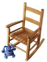 "Lipper 555P Child's Rocking Chair, 14.5"" W x 19.75"" D x 23.75"" H"