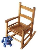 Lipper 555P Child's Rocking Chair, Pecan