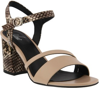 Spring Step Azura Block-Heel Mary Jane Sandals - Kleora