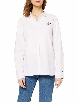 Tommy Hilfiger Women's Kim Oxford Shirt Ls W2 Blouse