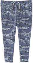 Joe Fresh Baby Boys' Camo Print Pant, Dusty Blue (Size 18-24)