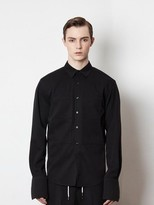 16ss Two Pocket Bugle Shirts [black]