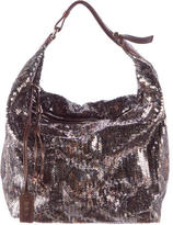 Jimmy Choo Sequined Beale Hobo