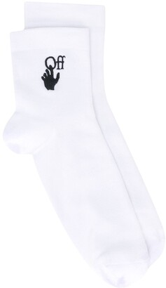 Off-White Hand Logo Socks