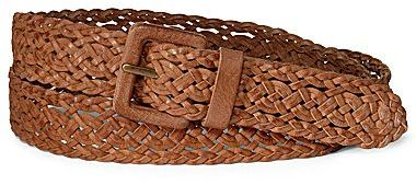JCPenney Covered Buckle Braided Belt