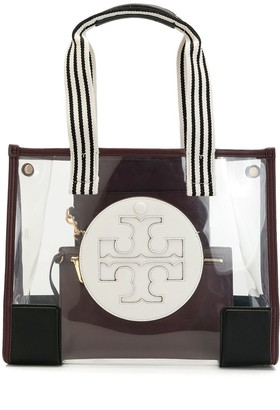 Tory Burch Ella faux-leather panel tote