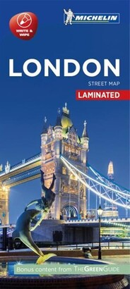 Michelin London City Map - Laminated