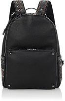 Valentino Men's Rockstud Classic Backpack-BLACK