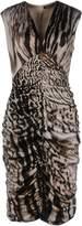 Roberto Cavalli Knee-length dresses - Item 34759490