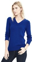 Banana Republic Italian Cashmere Blend Button-Back Vee