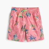 J.Crew Boys' swim trunk in Hawaiian islands