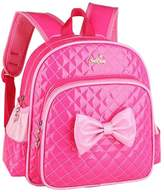Black Temptation School Bags Childrens Backpack For School Toddle Backpack Baby Bag(Pink Bow)