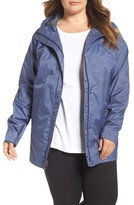 Columbia Plus Size Women's 'Splash A Little' Modern Classic Fit Waterproof Rain Jacket