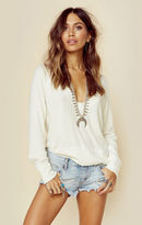 Blue Life ribbed summer nights sweater