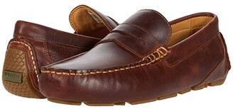 Sperry Gold Cup Harpswell Penny Loafer (Leather Brown) Men's Shoes