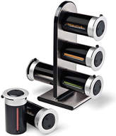 Zevro 6-Canister Magnetic Countertop Spice Rack