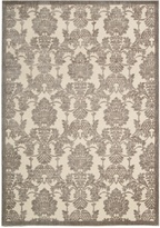 Nourison Graphic Illusions (GIL03) Ivlat Runner Area Rug, 2-Feet 3-Inches by 8-Feet