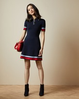Ted Baker Stripe Detail Mockable Dress