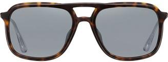 Prada Aviator Tortoiseshell Frame Sunglasses