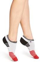 Stance Women's 'Fusion Athletic - Powerhouse' Stripe Ankle Socks
