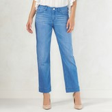 Lauren Conrad Women's Crop Straight-Leg Jeans