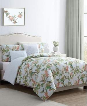 Vcny Home Chelsea Springs 4-Pc. Twin Xl Duvet Cover Set Bedding