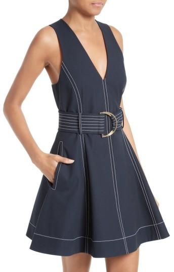 Diane von Furstenberg Women's Fit & Flare Dress