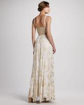 Alice + Olivia Yarra Bustier Maxi Dress
