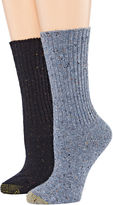 Gold Toe 2-pr. Crossroads Boot Crew Socks