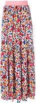 Love Moschino floral print skirt - women - Polyamide/Polyester/Spandex/Elastane/Viscose - 38