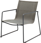 Houseology Gloster Asta Stacking Lounge Chair - Meteor Frame - Granite