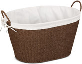 Household Essentials Paper Rope Lined Laundry Basket