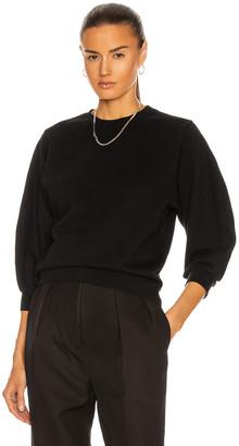AGOLDE Thora Sweatshirt in Black | FWRD