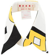 Marni Mulitcolor Abstract Collar