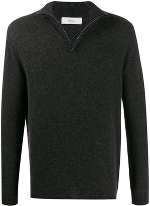 Pringle fine knit zipped sweater
