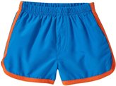 City Threads Swim Trunk (Toddler/Kid) - Sea Blue/Orange - 3T