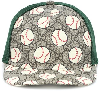 Gucci Kids GG printed baseball cap