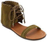 Minnetonka Havana Suede Sandals